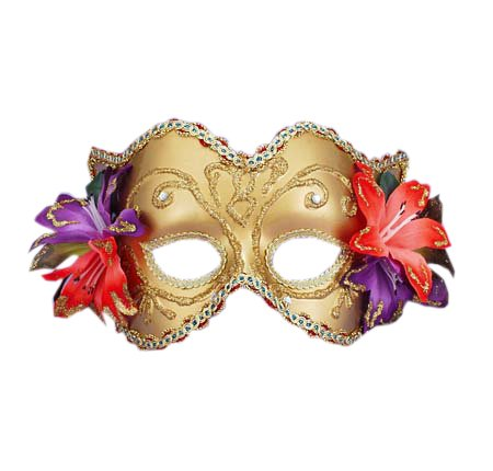 theater Gold Costume Mask Venetian Mask Mardi Gras Masque Masquerade Ball
