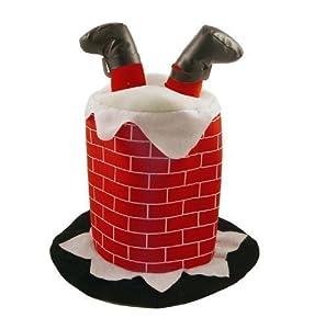Adult Novelty Hat - Santa Stuck In The Chimney