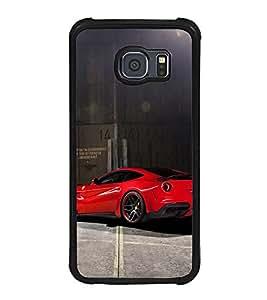 Printvisa Ultra Racing Car 2D Hard Polycarbonate Designer Back Case Cover for Samsung Galaxy ...
