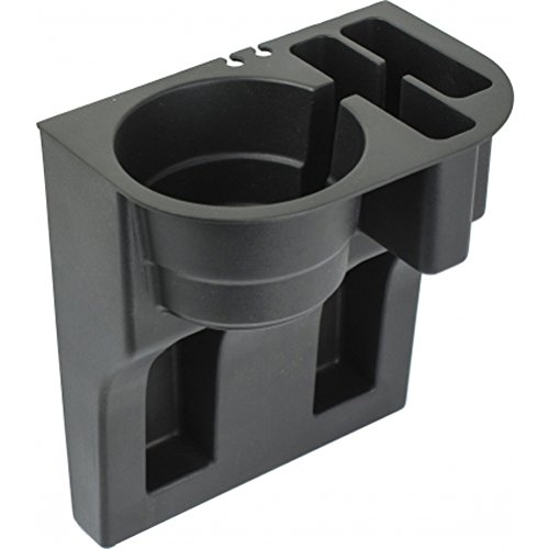 Custom Accessories 91129 Black Mobile Device Organizer with Cup Holder (Cup Holder Truck compare prices)