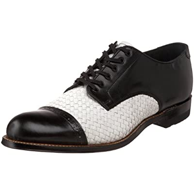 Stacy Adams Men's Madison Cap Toe Woven Oxford