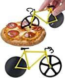 Jaz Deals Bicycle Shape Pizza Cutter (Color May Vary)