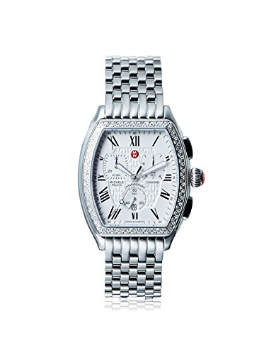 MICHELE-Womens-Relev-Quartz-Stainless-Steel-Watch-ColorSilver-Toned-Model-MWW19A000001