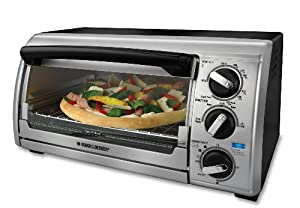 Black & Decker TRO480BS Toast-R-Oven 4-Slice Toaster Oven by Black & Decker