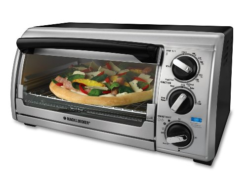 Lowest Prices! Black & Decker TRO480BS Toast-R-Oven 4-Slice Toaster Oven