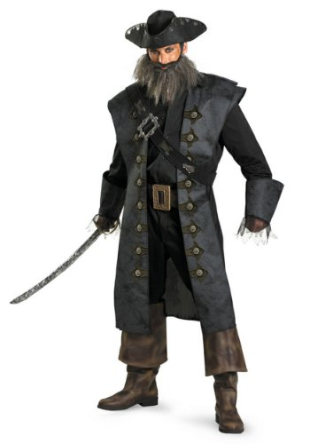 Disguise Unisex - Adult Deluxe Blackbeard