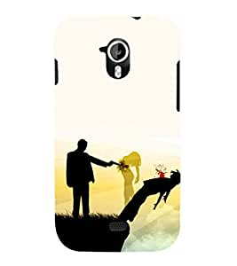 EPICCASE Betrayal Mobile Back Case Cover For Micromax A116 Canvas HD (Designer Case)