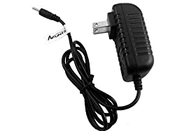 AFUNTA DC 5V 2A/2000mah AC Power Adapter Wall Charger for Android Tablet PC MID eReader with Round Jack US Plug (Dia: 2.5mm)