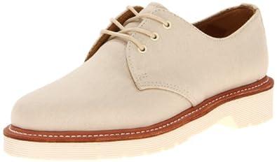 Dr. Martens Mens Lester 3-Tie Shoe Beige Oxfords UK 3 (Women's 5) M