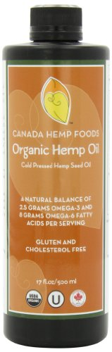 Canada Hemp Foods, Organic Hemp Oil, 17 Fluid Ounces