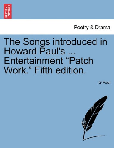 The Songs introduced in Howard Paul's ... Entertainment
