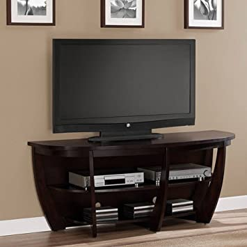 Best Home Archer Modern Contemporary 58-inch Espresso Media Console FLat Screen Tv Stand