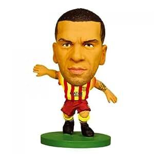 Amazon.com : FC. Barcelona Dani Alves Away Soccer Starz Figure with