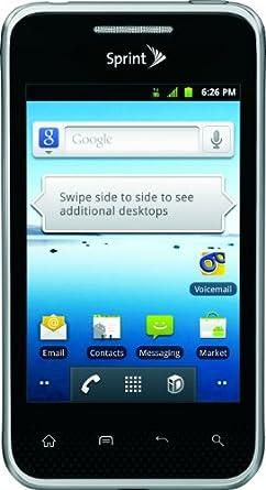 LG Optimus Elite, Black 4GB (Sprint)