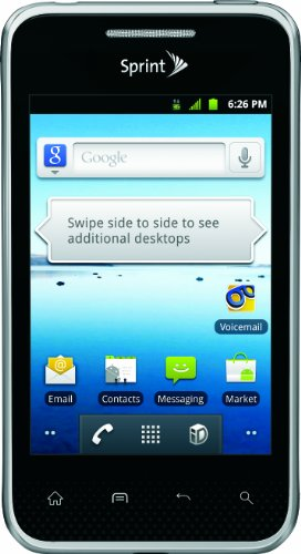 LG Optimus Elite Android Phone, Black (Sprint)