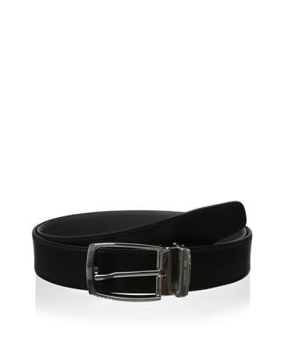 Cerruti 1881 Men's Belt, Nero Grigio, 120 EU/44 US