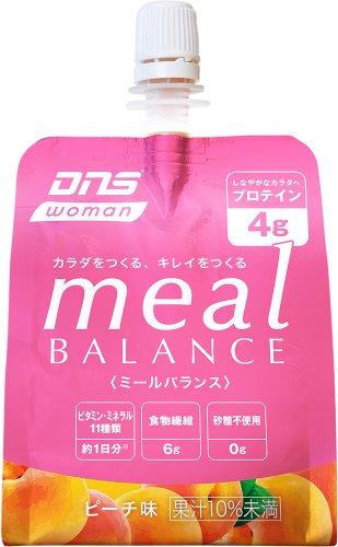 DNS woman meal BALANCE ピーチ味 180g×6個入