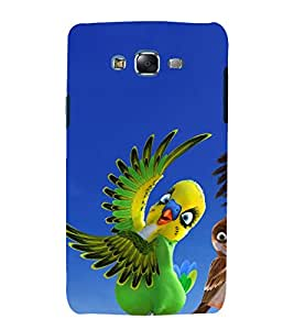 printtech Nature Animated Bird Parrot Back Case Cover for Samsung Galaxy Grand Max G720
