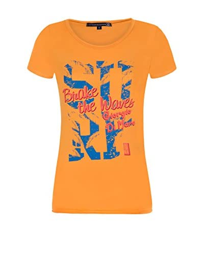 Giorgio Di Mare Camiseta Manga Corta Naranja