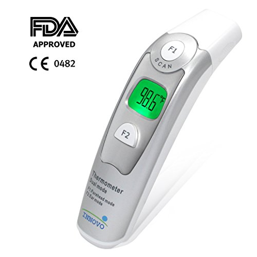 Innovo Forehead and Ear Thermometer (Dual Mode) - Newly released on Jan 2015 *CE and FDA approved