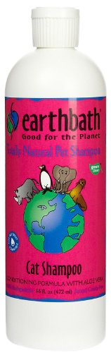 Earthbath All Natural Cat Shampoo and Conditioner in 1, 16-Ounce