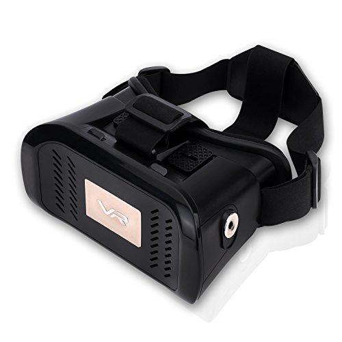 Pumpkin Lunettes 3D VR Box Realité Virtuelle Film Jeux Carton pour Android et iOS Téléphone Portable
