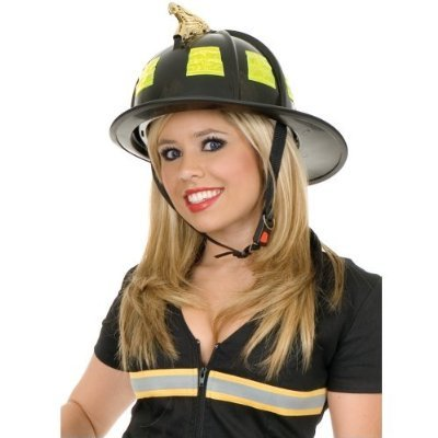 Like Real Firefighter Helmet - Great with any Fireman or Firefighter Costume Theme