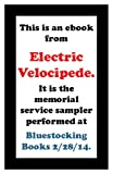 img - for Electric Velocipede Bluestockings Memorial book / textbook / text book