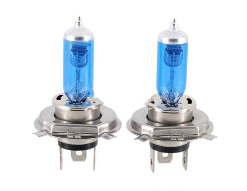 H4 Blue Hid Xenon Halogen Bulb Headlight 60/55W (Blue)