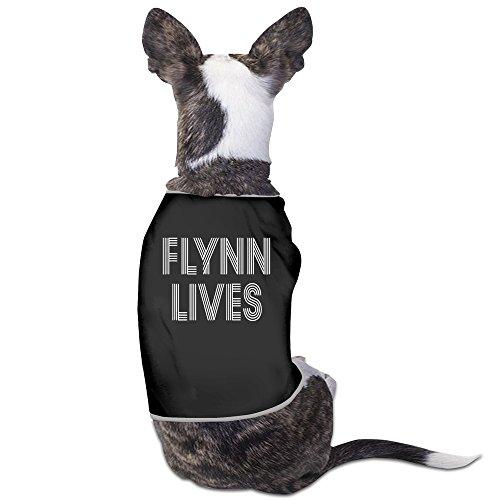 TvT FLYNN LIVES - TRON 2016 Popular Funny Pattern Dog Clothes