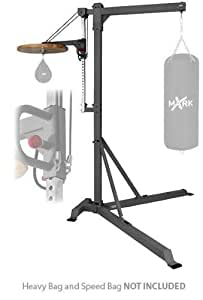 Amazon Com Xmark Fitness Spacemiser Pivoting Heavy Bag