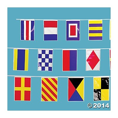 Nautical Line of Flags by Party Supplies