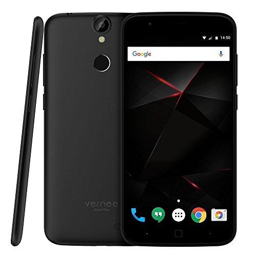 Vernee thor - <stro />SmartPhone</strong> disponible 4G LTE® (Pantalla 5.0&#8243;, <strong>Android</strong>® 6.0, 16GB ROM, 3GB RAM, Octa-Core 1.3GHz, Cámara 13.0 Mp, Sensor de huellas dactilares, Carga rápida), Negro width=&#8221;125&#8243;> </p> <div class=
