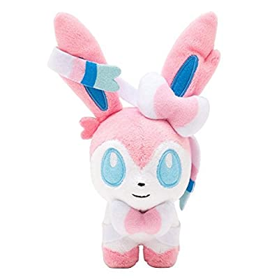 "Generic Mega Sylveon Plush Toys Stuffed Doll With Badges 6"" by Generic"