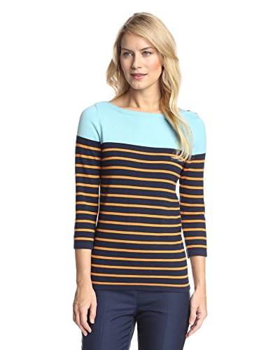 J. McLaughlin Women's Charter Striped Pullover