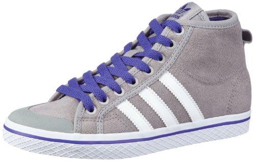 adidas Originals  HONEY STRIPES M,  Sneaker a collo alto donna, Grigio (Grau (ALUMIN/RUNWH)), 37 1/3