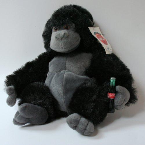 "Coca Cola Gorilla Plush 12"" - 1"