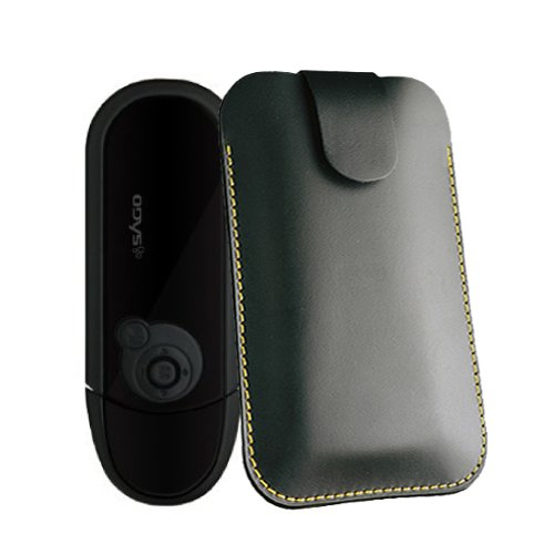 Hülle für Odys MP3-PAX Musik Player Tasche Case Etui Ledertasche für MP3-MP4-Audio-Media-Player