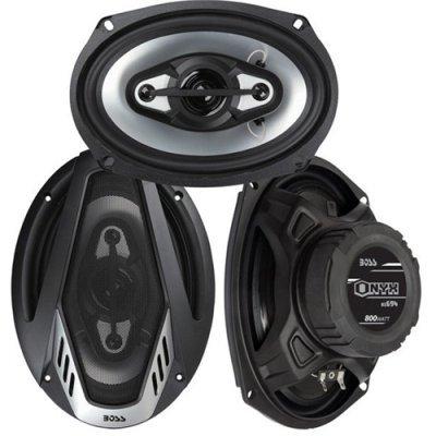 """2) Brand New Boss Onyx Nx694 6X9"""" 800W 4-Way Car Audio Coaxial Speakers 4 Ohm"""