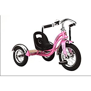 Amazon.com: Schwinn Roadster Tricycle - Pink: Toys & Games