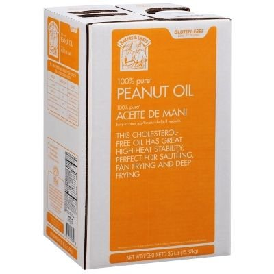 Bakers & Chefs Peanut Oil - 35 lbs. (Peanut Cooking Oil compare prices)