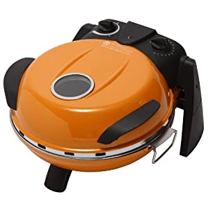 FUKAI さくさく石窯ピザメーカー オレンジ FPM-160