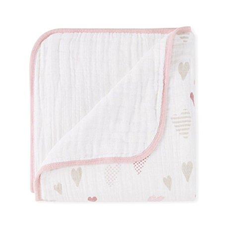 aden + anais Classic Dream Blanket - Heartbreaker