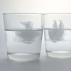 Polar Ice - Penguin and Polar Bear (Ice Cube Molds)