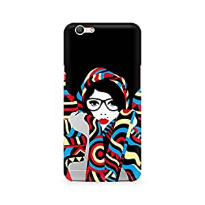 Ebby Scarf Lover Premium Printed Case For Oppo F1S