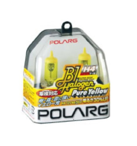 POLARG [ 日星工業 ] [ ハロゲンバルブ ] フォグランプ等 [ 車検対応 ] ピュアイエロー [ H3d ] 12V 35W [ 品番 ] P0783Y