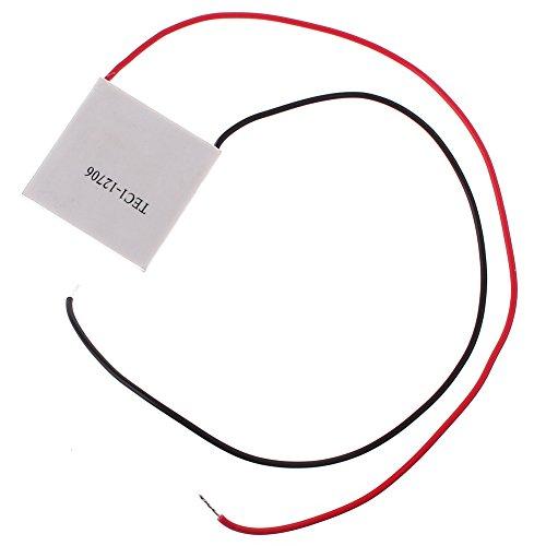 Generic 12V 60W Tec1-12706 Heatsink Thermoelectric Cooler Peltier Cooling Plate Module