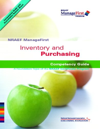 ManageFirst Inventory and Purchasing with Pencil/Paper...