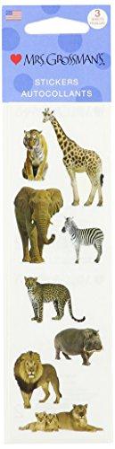 Mrs. Grossman's Stickers-Wild Animals - 1