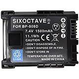 【str】保護カバー付き残量表示可能 Canon キヤノン BP-808D/BP-808 完全互換バッテリー「純正バッテリー充電器チャージャー、カメラ本体で充電可能」 iVIS HFS10/iVIS HFM32/ iVIS HFS21/iVIS HFM31/iVIS HFM41/ iVIS HFM43/iVIS HFG10/iVIS XA10/iVIS HF G20/ iVIS HF G21 ビデオカメラ対応